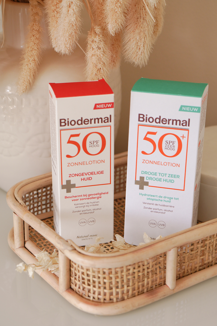 Biodermal zonnelotion zongevoelige huid & droge tot zeer droge huid