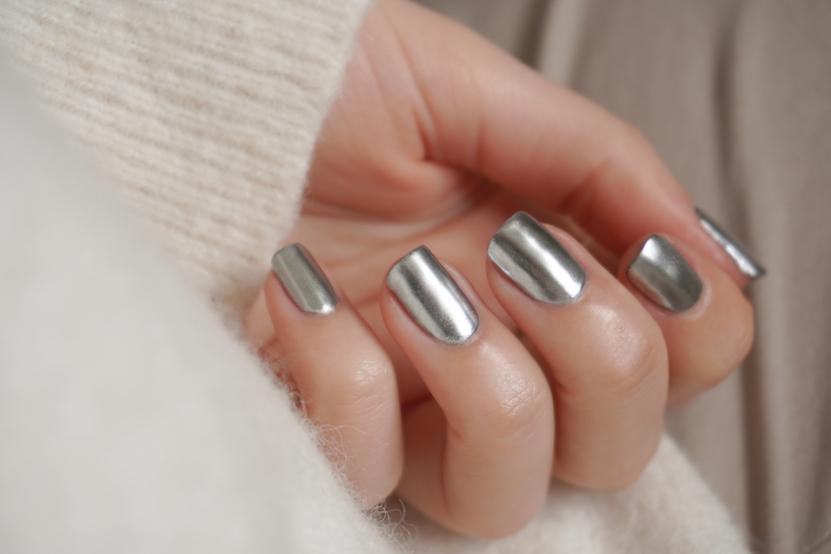 nail art Chrome